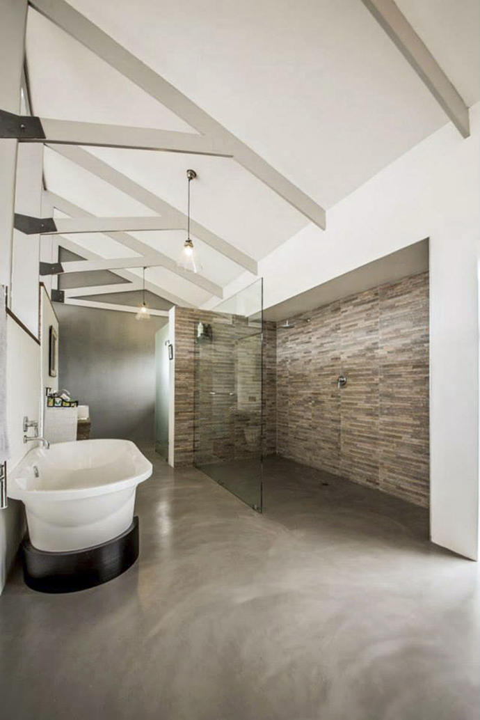 CreteCote is a cement floor finish with natural mottling and subtle movement.