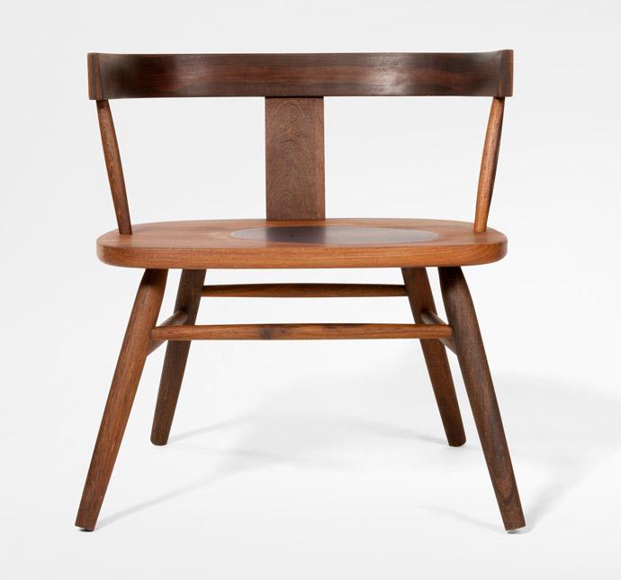 Maun Lounge Chair with Patty Johnson