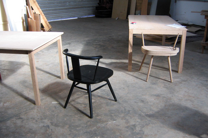 Peter Mabeo's workshop