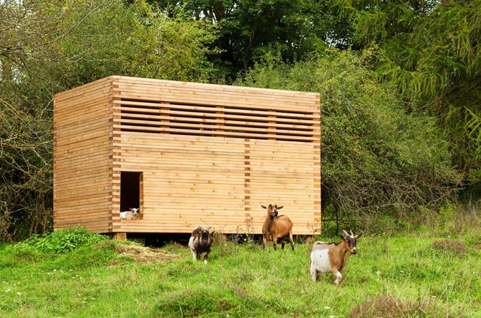 Goat Barn by KÜHNLEIN Architektur