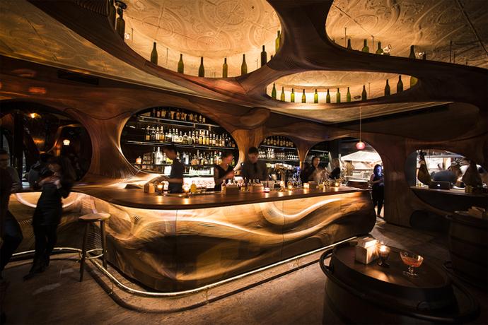 Bar Raval, Canada (Design: PARTISANS)