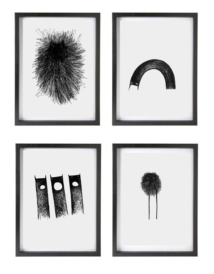 A selection of Chimney Creatures from