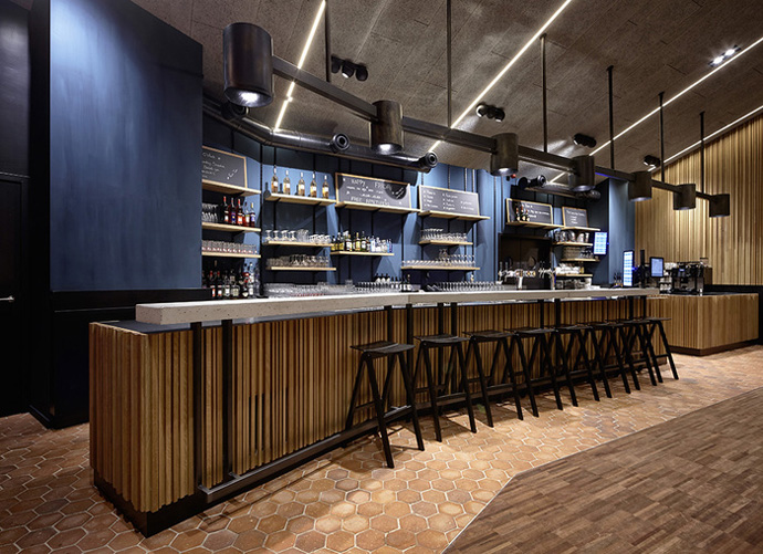 Corda Bar, Belgium (Design: Creneau International)