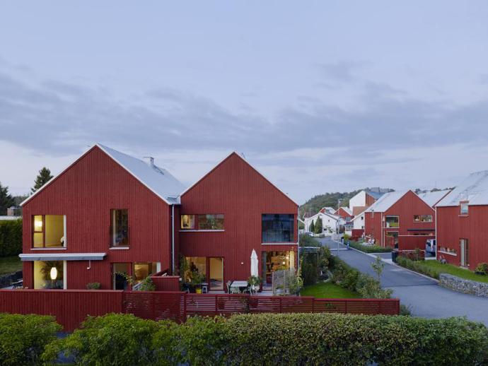 Hönekulla by, Mölnlycke, Sweden