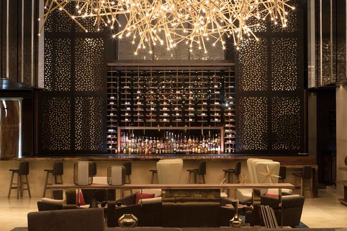 Lobby Bar, Mexico (Design: Hirsch Bedner Associates)