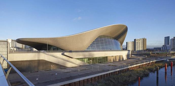 London Aquatics Centre, England