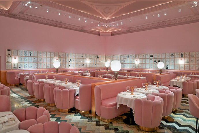 The Gallery at Sketch, London (Design: India Mahdavi)
