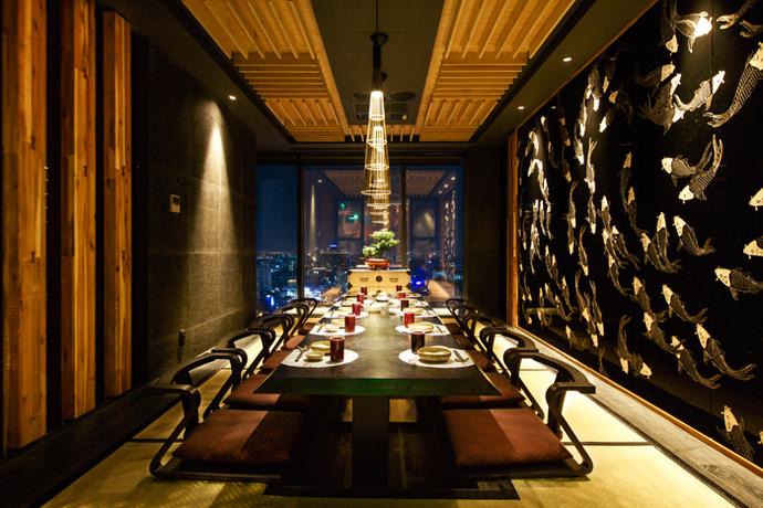 Sorae Sushi, Vietnam (Design: LW Design)