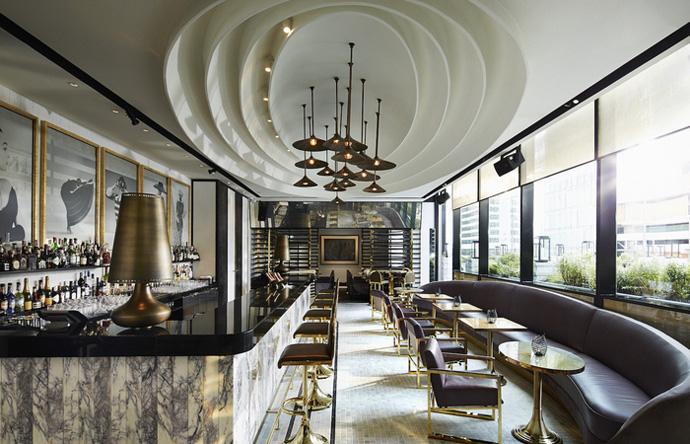 VOGUE Lounge, Thailand (Design: David Collins Studio)