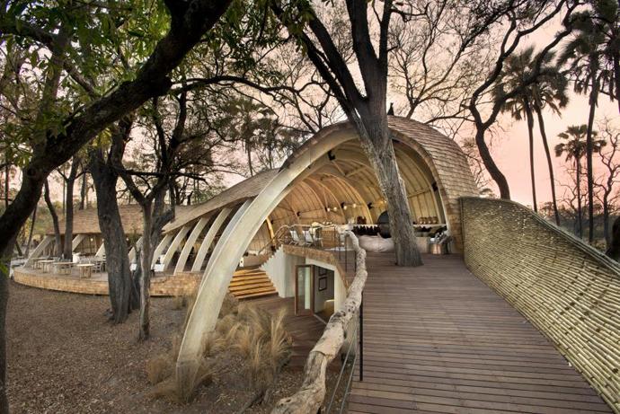 Sandibe Safari Lodge, Okavango Delta, Botswana (Image: Dook)