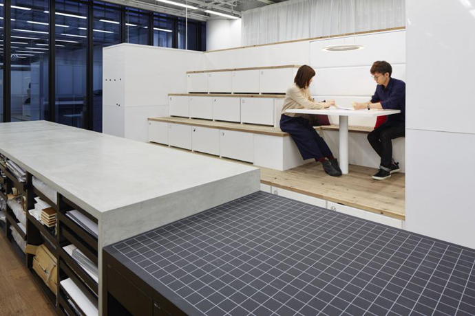 Nikken Space Design Office, Osaka, Japan