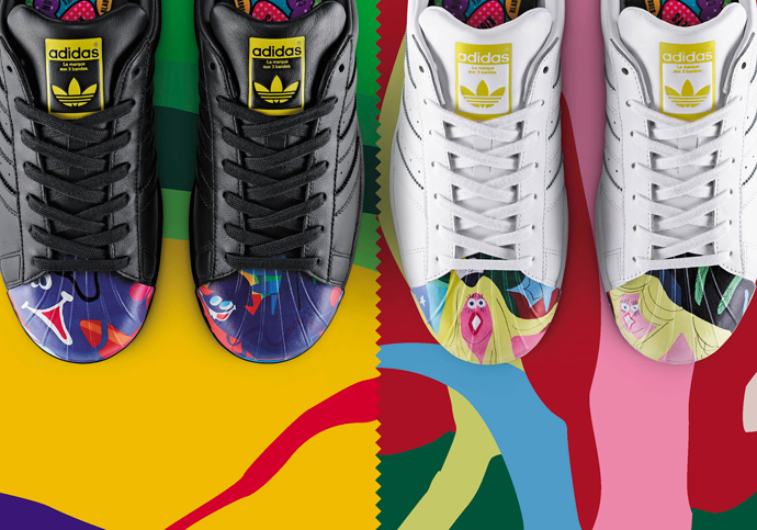 chaussures de sport 08f0f aa578 adidas Originals X Pharrell Williams: The Superstar ...