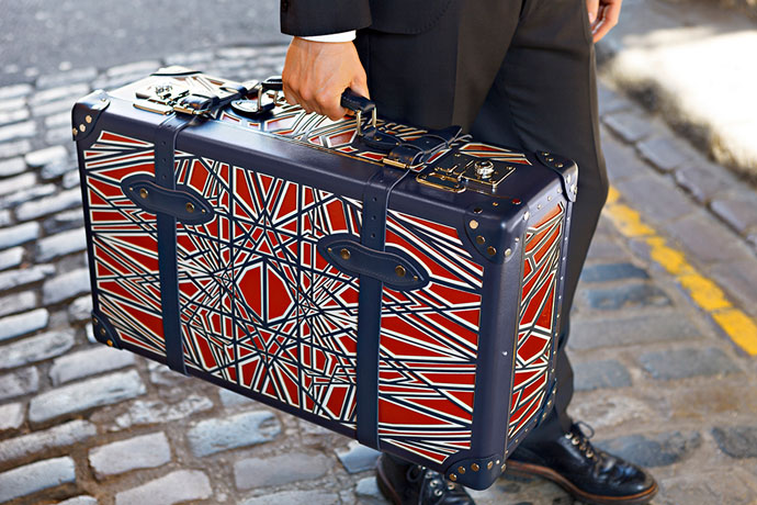 Christopher Jenner and Globe-Trotter Suitcase Colab