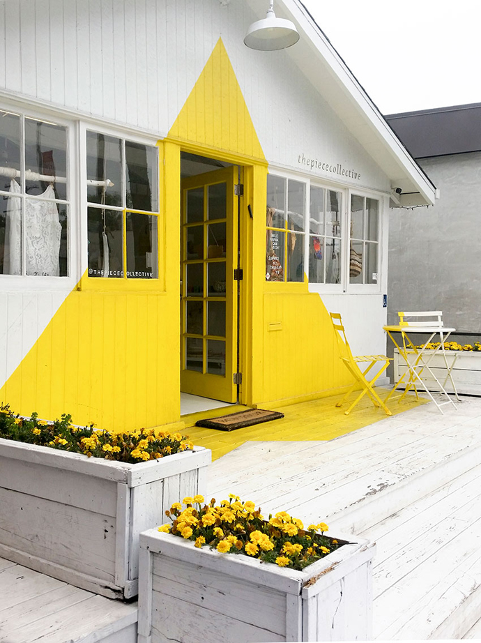 Cool stores: The Piece Collective on Abbot Kinney Boulevard.