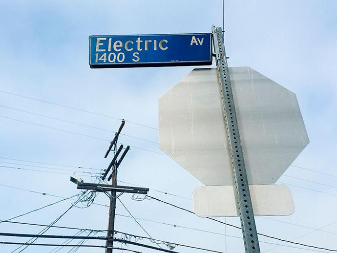 Electric Avenue in LA's Venice.