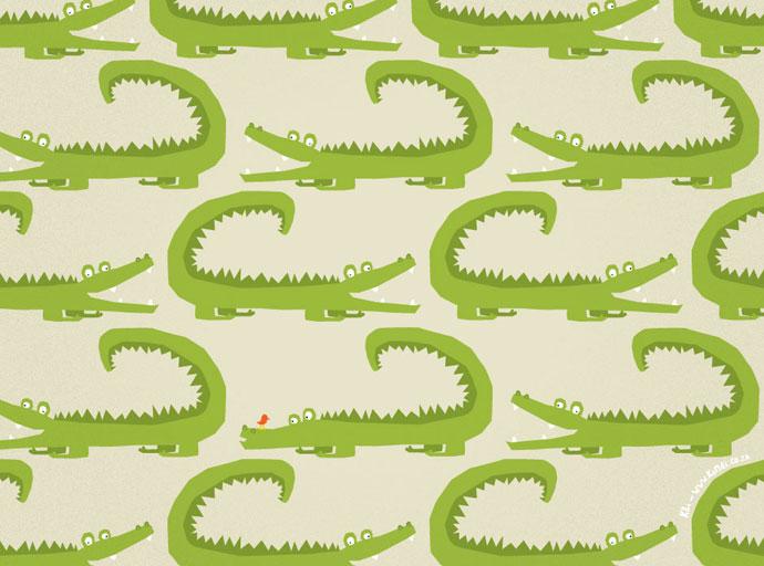 placemats-animals-crocodile