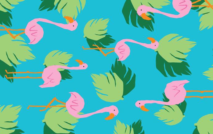 resized-Tray-flamingo