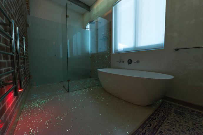 Bathroom 1 Evening Lights Off