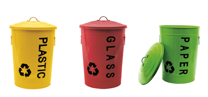 Kitchen Accessories: 5 Recycling Bins - Visi