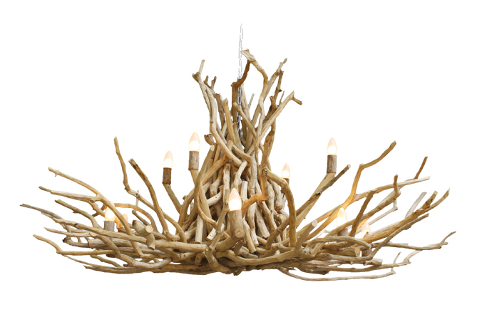 Twig Chandelier by High Thorn