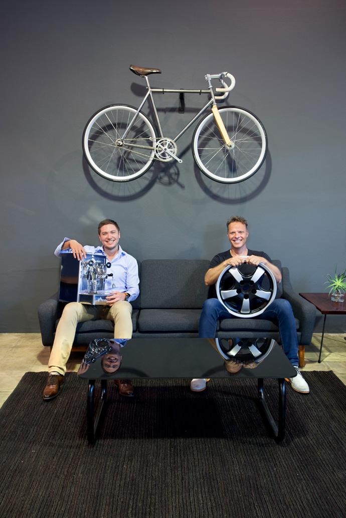 Stefan Gutstadt, managing director of Culinary Equipment Company, and Gavin Rooke of Dutchmann.