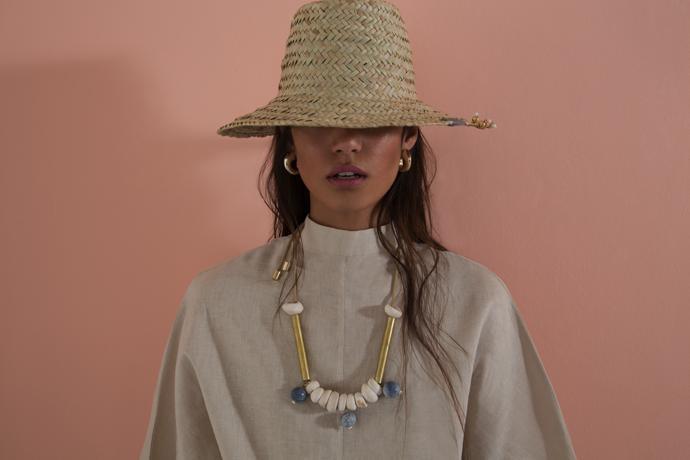 assembled-talisman-golden-horn-earrings-hat