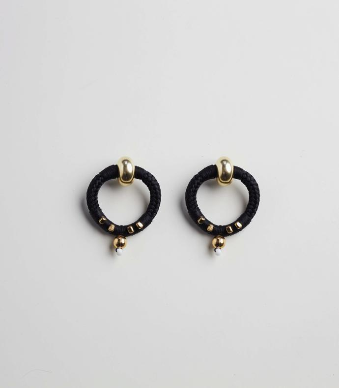 Beaded Point Earrings R520