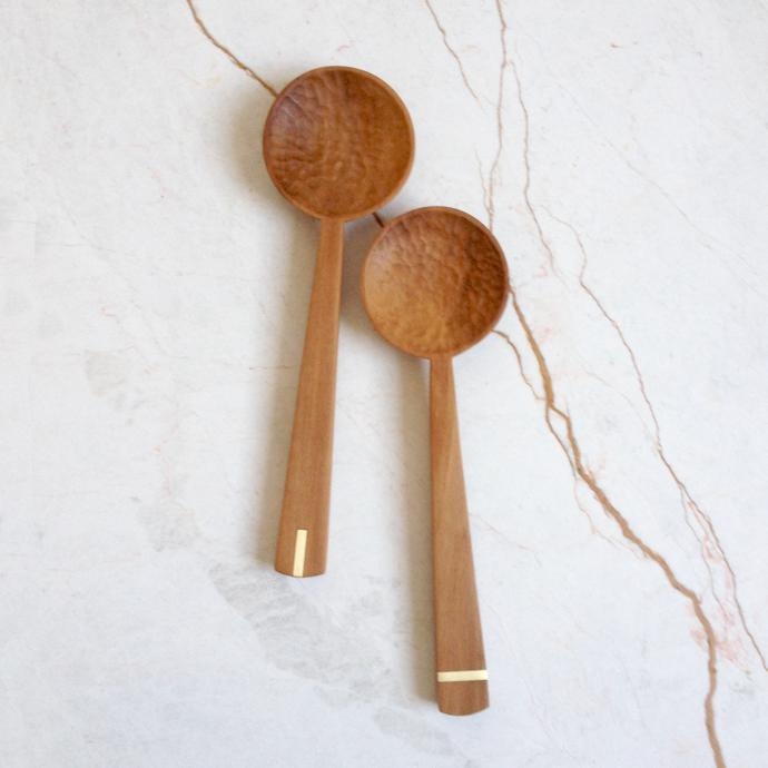 white-pear-brass-salad-spoons