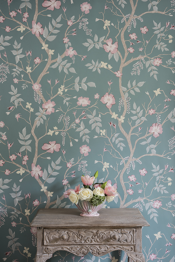 Winning Design Cinda Roses Wallpaper