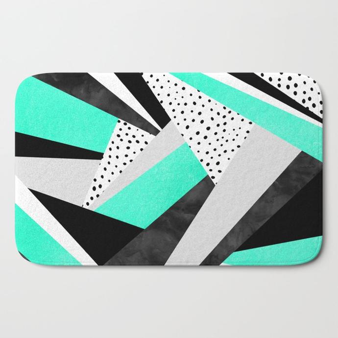 crazy-fun-turquoise-bath-mats
