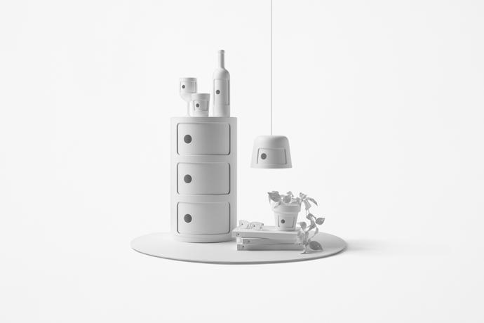 The tribute piece by Nendo.