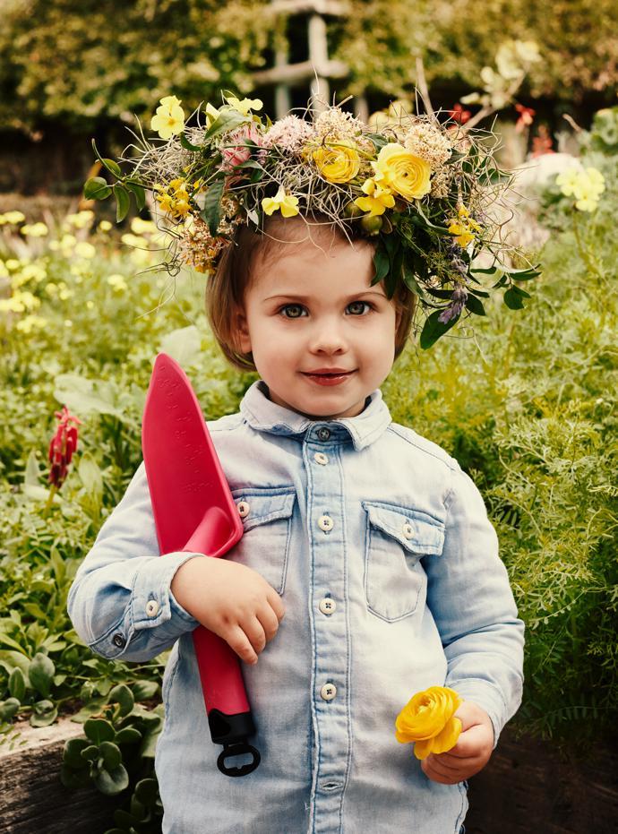 One-year-old Christina du Toit.