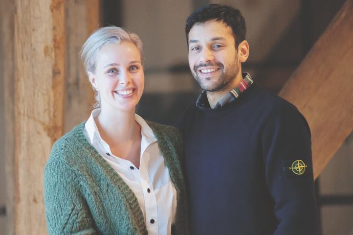 Anke and Wiebren Bergsma.
