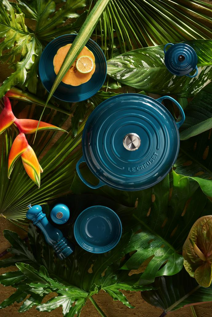 le creuset teal2