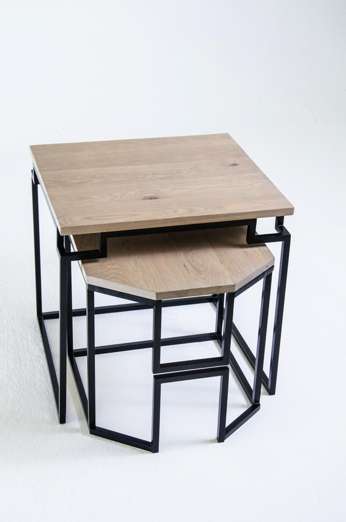 Ndalo Nesting Tables. Image credit: Njabulo Magubane and Simanga Zondo