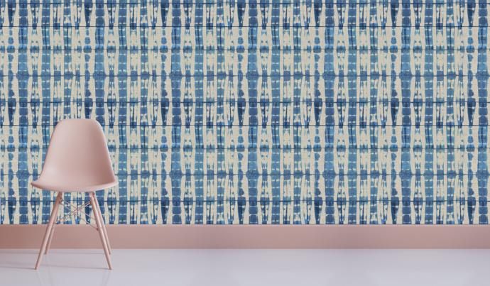 The wallcovering range, available at Robin Sprong, is a first for Cottonberry.