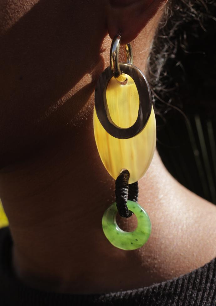 Mother Earth assemble earring