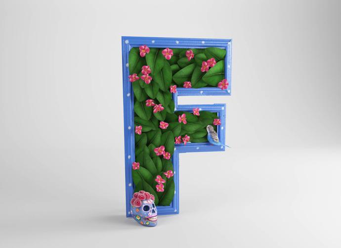 F – Frida Kahlo