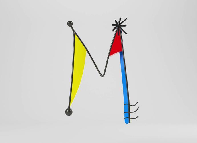 M – Joan Miró