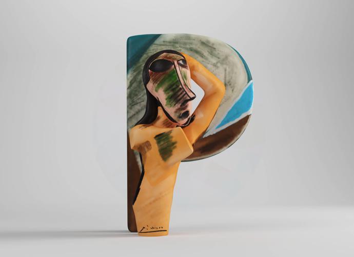 P – Pablo Picasso