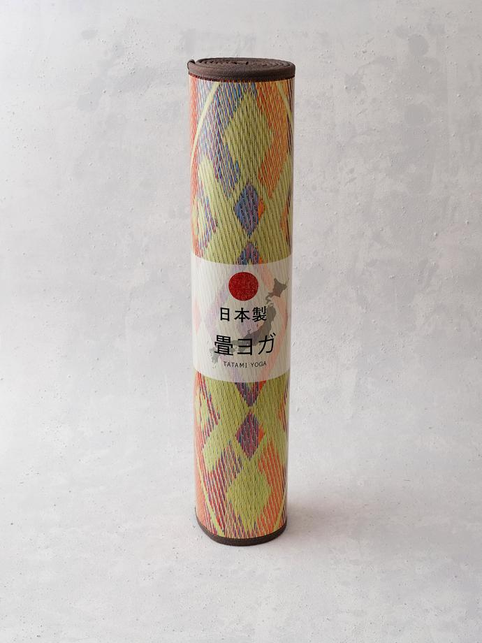 Tatami Yoga Mat by Ikehiko, R1 650. Made of natural Japanese igusa rush, the same as used to make traditional tatami mats. The yoga mat is non-slip, with a 4mm PVC backing and stitched with a polyester border to ensure it maintains its rigidity and shape. It rolls up tightly and can be easily transported to a yoga class or on a holiday break. The yoga mat can also be used as a day-time sleeping or meditation mat, or a runner rug.