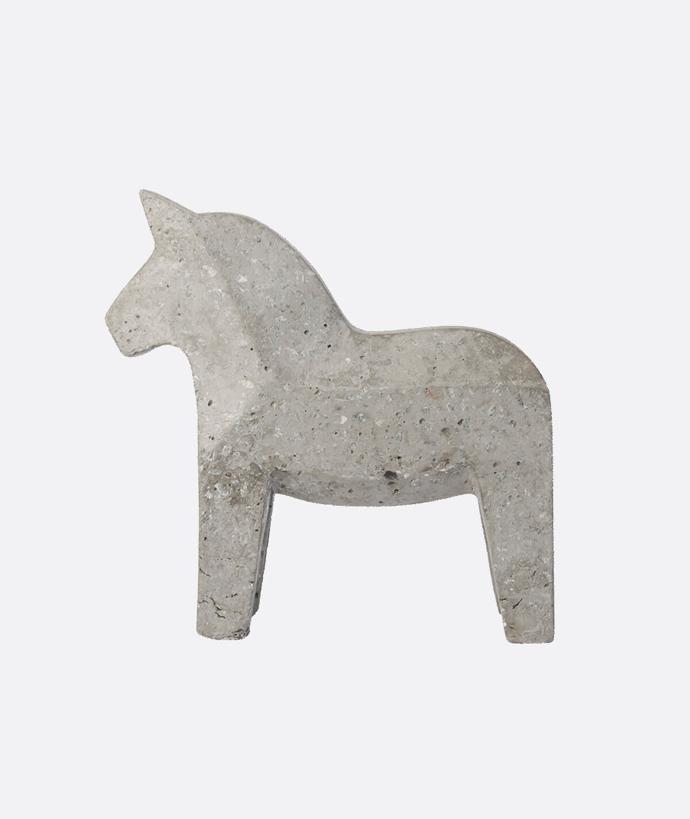 Dala Horse Concrete-Natural