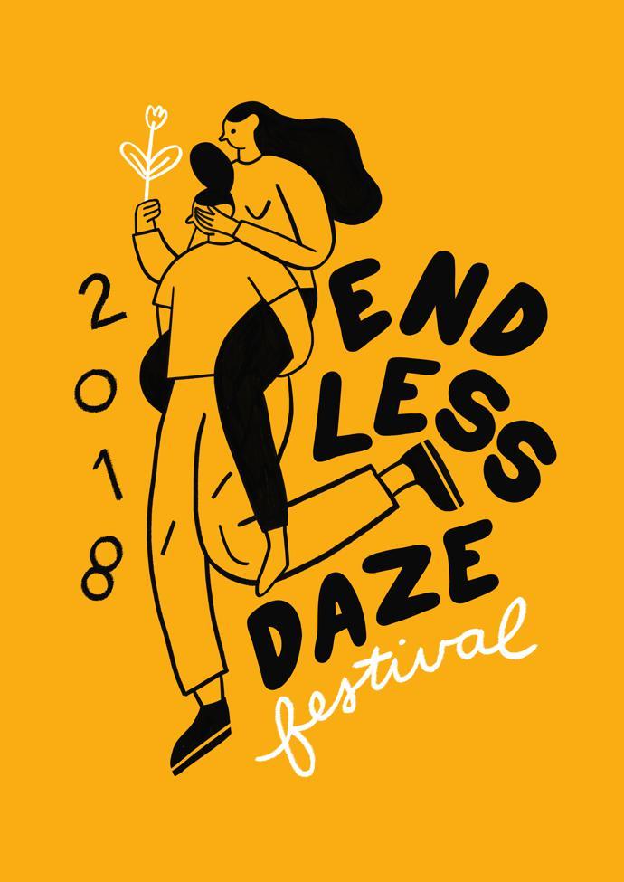 Endless Daze Festival Poster