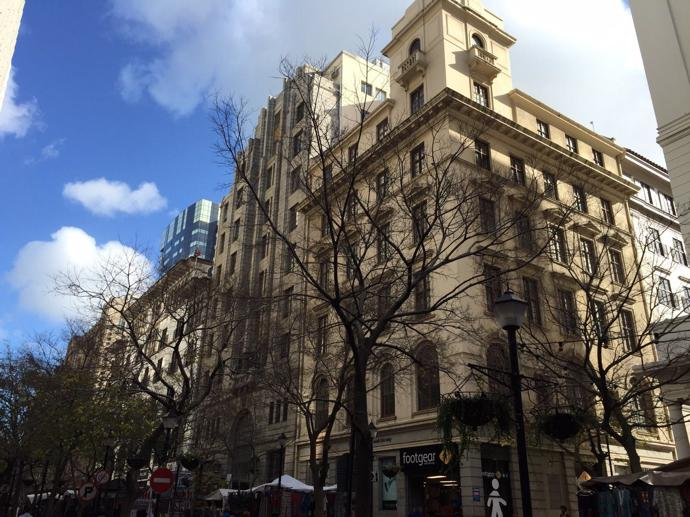 The exterior of the Gorgeous George on St George's Mall.