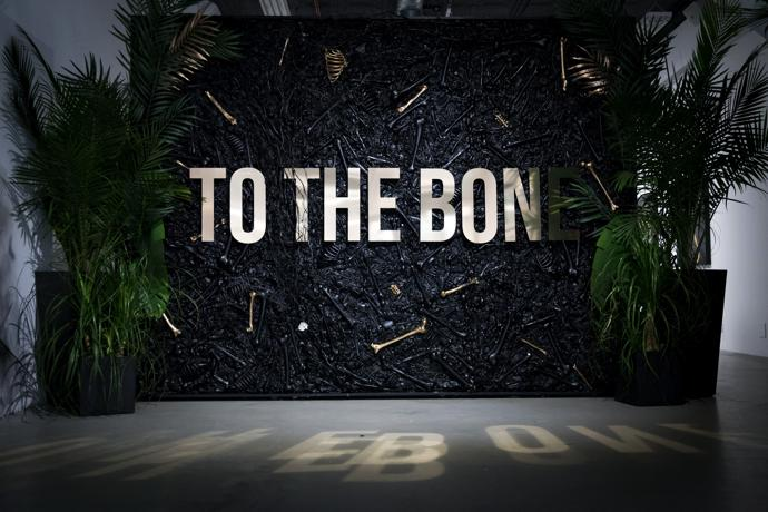 Sonny held a To The Bone exhibition in New York at the end of 2018.