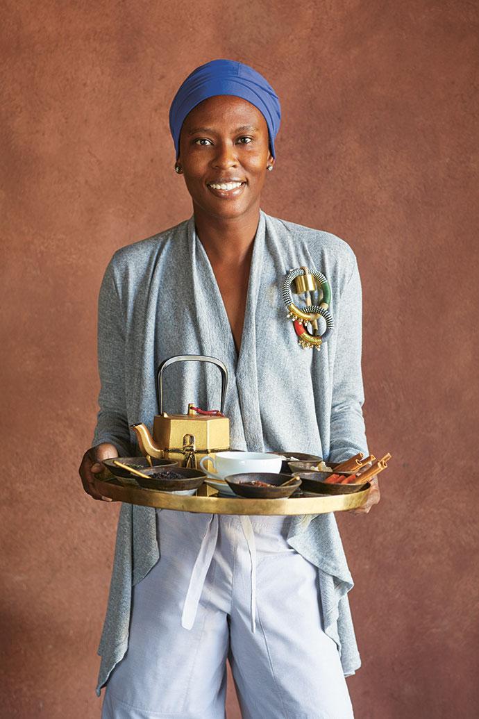 Resident chef Thulani Silinda.
