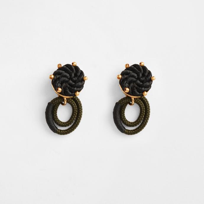 Harvest Moon Labyrinth A earrings.