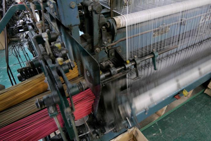 Tatami weaving machine, Ikehiko Corporation