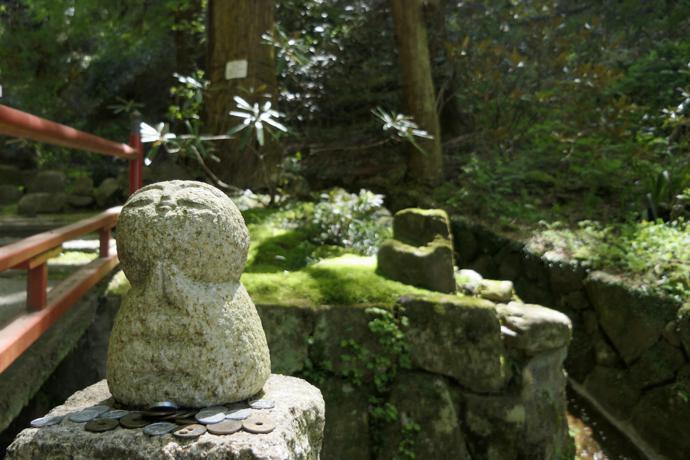Jizo statue in Asuka, Nara Prefecture