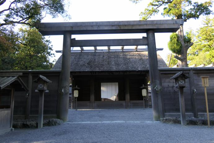 Ise Shrine (the 'heart' of Japan), Mie Prefecture